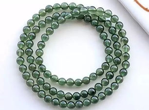 綠髮晶 Green Rutilated Quartz