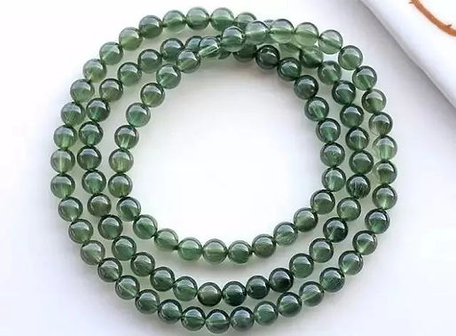 綠髮晶 Green Rutilated Quartz
