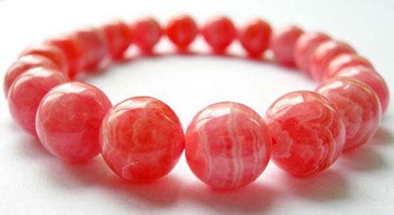 紅紋石 (菱錳礦) Rhodochrosite