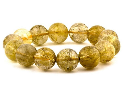 金髮晶 Golden Rutilated Quartz