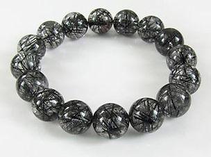 黑髮晶 Black Rutilated Quartz