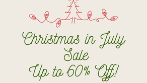 Christmas in July Sale! Up to 60% off of Décor and More!