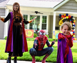 Interact with their favorite characters!