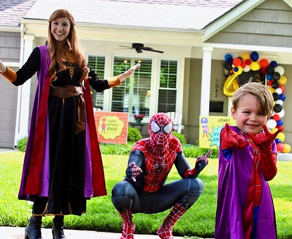 Anna and Spiderman