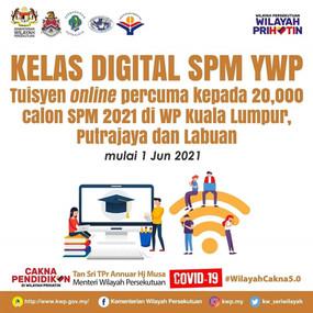 YWP peruntuk RM200,000 untuk kelas digital