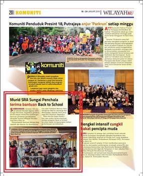Murid SRA Sungai Penchala terima bantuan Back to School YWP