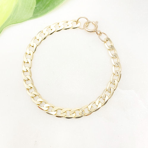 Gold-filled Chunky Link Bracelet