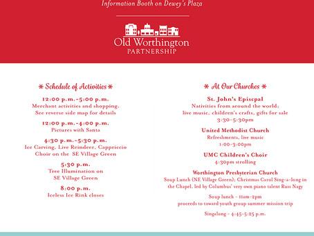 Old Worthington  Holiday Open House 2018 Program