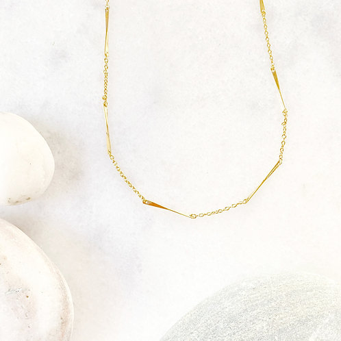 Dainty Decorative Chain Necklace