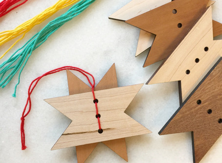 Reclaimed Wood Ornament Craft
