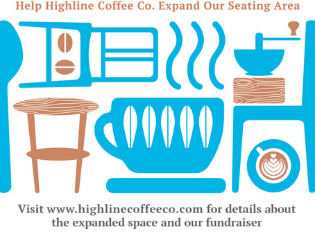 We're Shacking up with Highline Coffee Co. and Branchline Leather Co. in 2019!