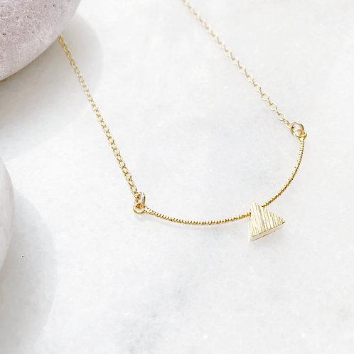 Geometric Charm Gold Necklace