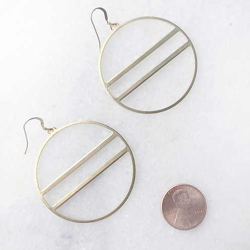 Horizon Hoop Earrings