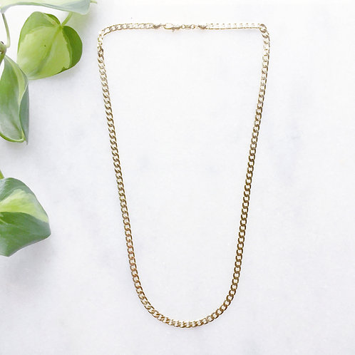 Gold Filled Chunky Curb Chain
