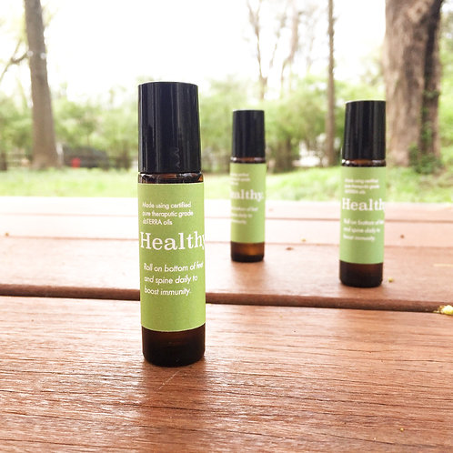 Healthy. Essential Oil Roller Blend