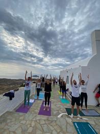 Morning Pilates at Chora
