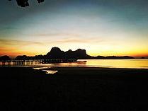 El Nido - tramonto