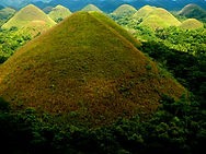 Ecotourism Chocolate Hills Bohol Philippines