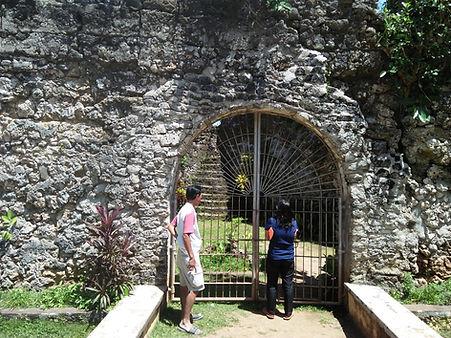 Camiguin door tower