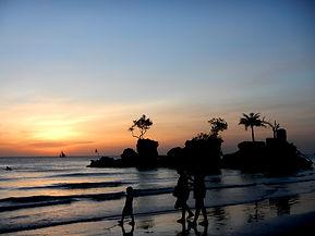 Boracay tramonto