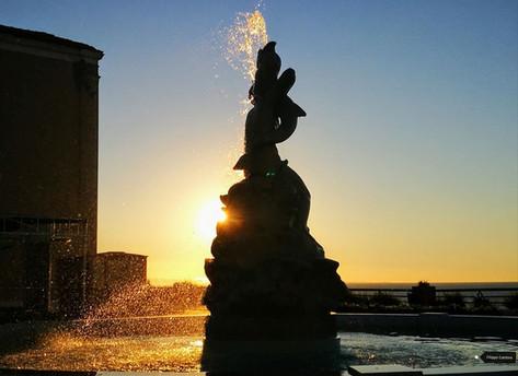 Fontana sul Belvedere di Piazza S.Antonio