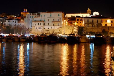 Vista di Termoli dal Porto