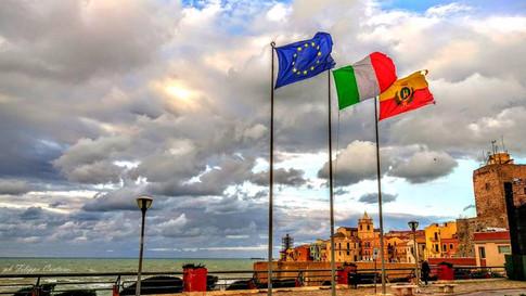 Belvedere di Piazza Sant'Antonio con spettacolare vista sul Borgo Antico
