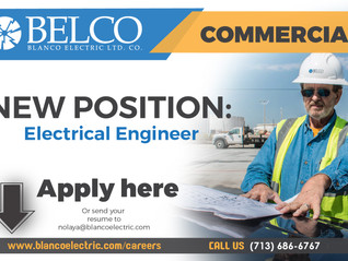New Position - Electrical Engineer
