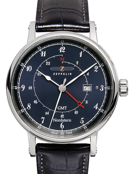 Zeppelin 7546-3 Nordstern Series Swiss Quartz GMT Watch