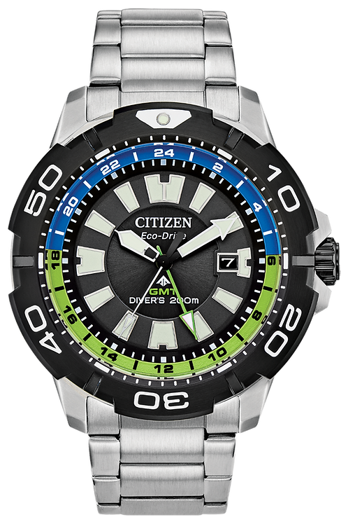 Gents Eco-Drive Promaster Diver GMT Watch