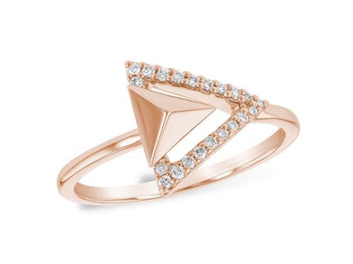 Allison Kaufman 14k Gold Diamond Fashion Ring