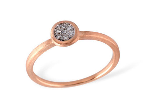 Allison Kaufman 14k Gold Diamond Fashion Ring