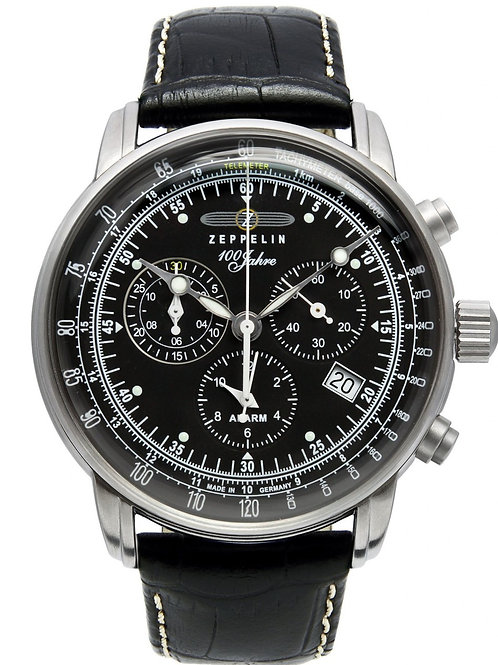 Zeppelin 100 Years Collection Chronograph / Alarm Watch