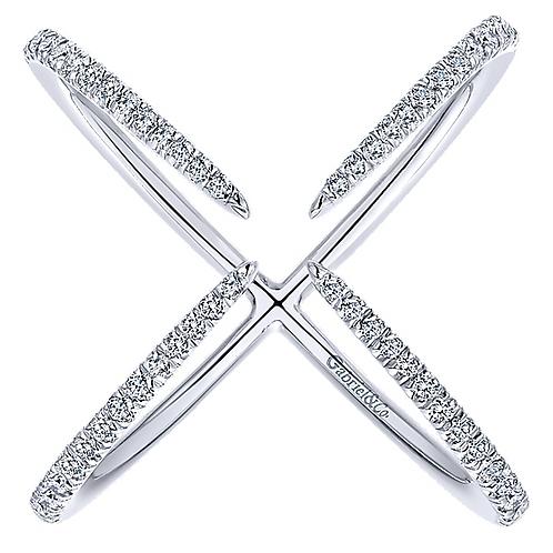 Gabriel & Co. 14k Kaslique Fashion  Ladies' Ring