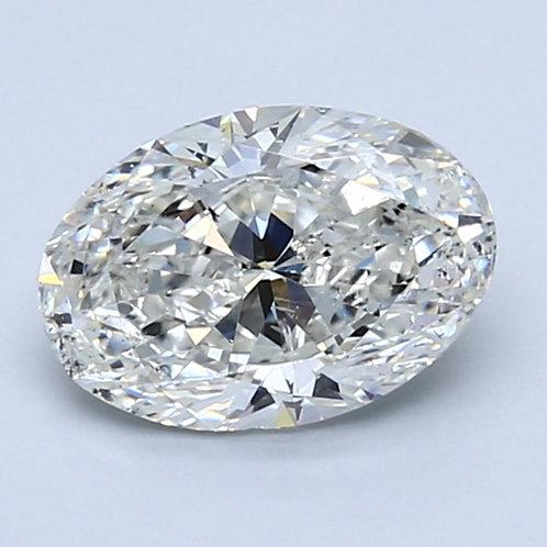 1.58ct GIA Certified Oval Cut Diamond