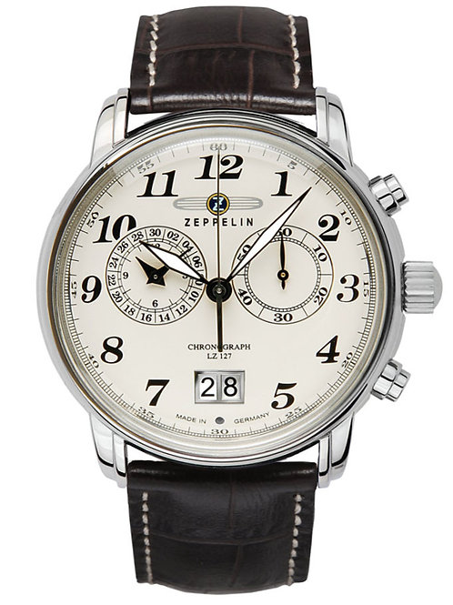 Zeppelin 7684-5 Chronograph -12 Hour Totalizer Watch