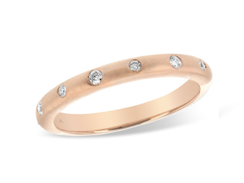 Allison Kaufman 14k Gold Wedding Ring