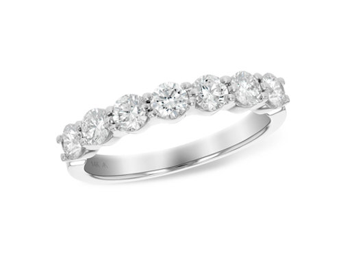 Allison Kaufman 14k White Gold Wedding Ring