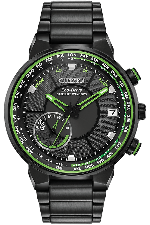 Satellite Wave Eco-Drive Watch