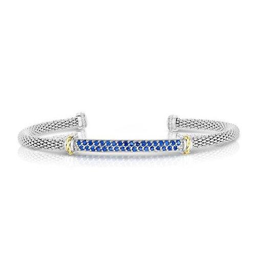 Silver & Gold Popcorn Bracelet