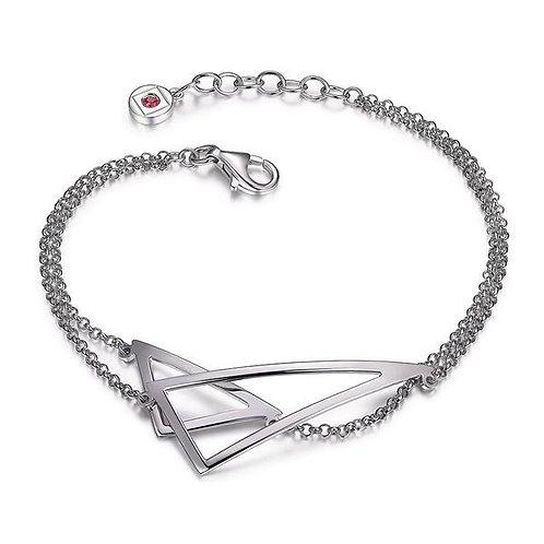 ELLE Jewelry Tryst Sterling Silver Bracelet
