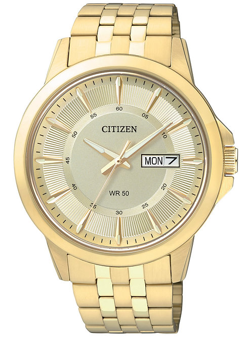 Citizen Men's Gold-Tone Stainless Bracelet Watch