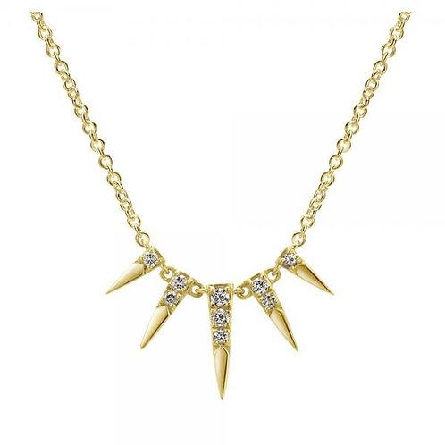 Gabriel & Co. 14k Trends Fashion Necklace