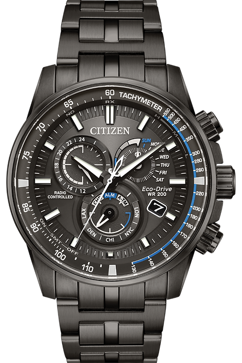 Gents Radio Controlled Eco-Drive Watch