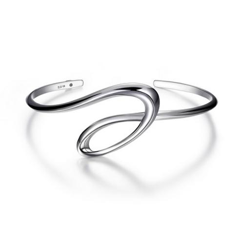 Sterling Silver Eternity Bracelet