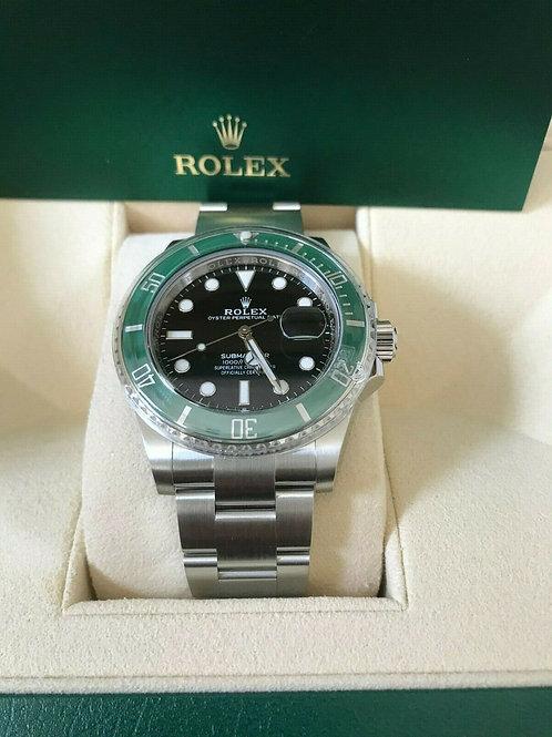 """Rolex """"Kermit"""" Submariner Watch"""