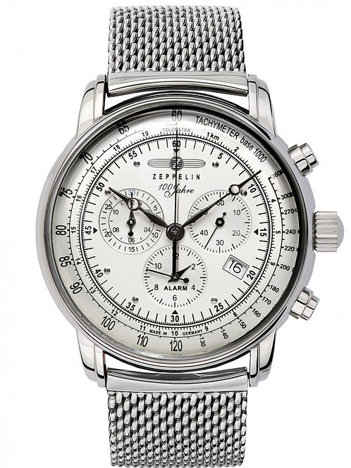 Zeppelin 100 Years Collection Chronograph / Alarm Tachymeter Watch