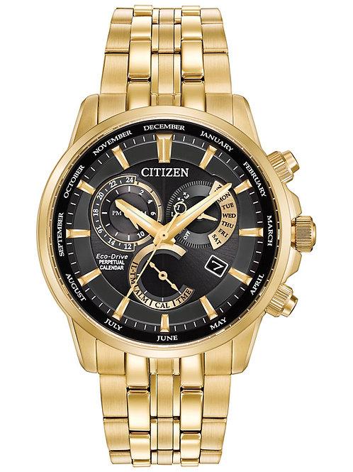 Citizen Men's Eco-Drive Gold-Tone Stainless Steel Bracelet Watch