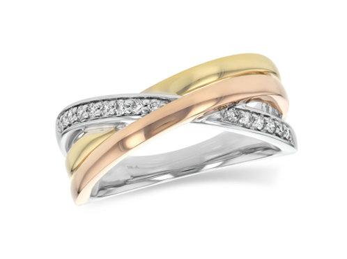 Allison Kaufman 14k Gold Diamond Wedding Ring