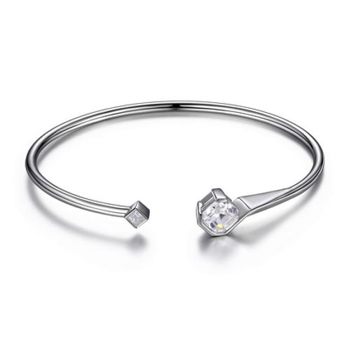 Elle Sterling Silver Cubic Zirconia Bracelet